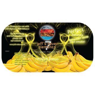 Jeff`s Seven Elements Molasse - Frozen Banana 100ml